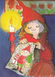 Virpi Pekkala Christmas Journal, Christmas Cards, Christmas 2017, Xmas, Baumgarten, Doll Eyes, Winter Art, Art Wall Kids, Whimsical Art