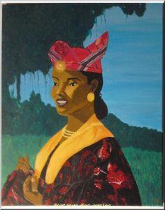 LaetitiaLe gal- Costume créole martinique femme