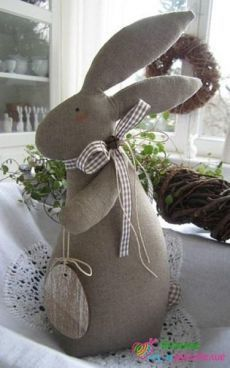 Discover thousands of images about Svetlana Dedovich Handmade Toys, Handmade Crafts, Diy And Crafts, Bunny Crafts, Easter Crafts, Easter Decor, Easter Bunny, Easter Eggs, Sewing Projects