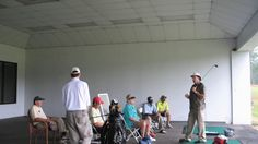 Dan Shauger Master of his (New Golf Swing) Boot Camp/16 Different Foreig...