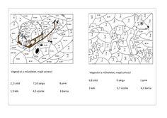 matematika 1.o. Innen: turtlediary.com