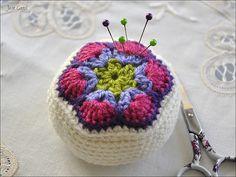 African Flower Pincushion