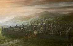 The city of Fornost.