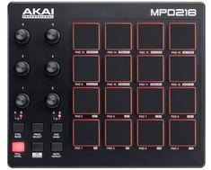AKAI MPD-218 USB Pad Controller - MIDI KEYBOARDS/CONTROLLERS - Ηλεκτρονικό Μαγαζί