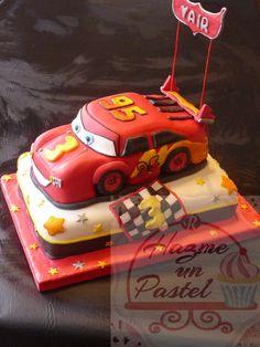 Torta Rayo Mc Queen..... Cars cake