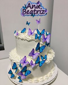 Candy Cakes, Birthday Cake, Desserts, Instagram, Tiered Cakes, Desert Recipes, Yummy Recipes, Toffee, Pastries