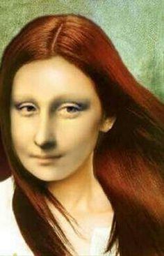 Filles au Mona Lisa Success Mona Lisa