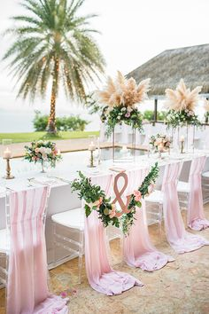One look at this outdoor destination wedding in Thailand with The Wedding Bliss Thailand and IAMFLOWER and you will be giddy over the decor and fun factors. Wedding Looks, Chic Wedding, Elegant Wedding, Wedding Table, Wedding Events, Wedding Ideas, Elegant Chic, Wedding Chairs, Ivory Wedding