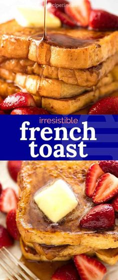 Simple decadent French Toast - a staple for leisurely weekend breakfasts! Simple decadent French Toast - a staple for leisurely weekend breakfasts! Brunch Recipes, Breakfast Recipes, Breakfast Ideas, Bread Recipes, Make French Toast, Simple French Toast, Recipetin Eats, Recipe Tin, Best Breakfast