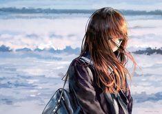 4096 Anime Girl HD Wallpapers and Background Images - Wallpaper Abyss - Page 38 Kawaii Anime Girl, Manga Kawaii, Sad Anime Girl, Pretty Anime Girl, Beautiful Anime Girl, Chica Anime Manga, Anime Art Girl, Anime Girls, Anime Girl Triste