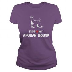 Kiss My Afghan Hound  - Click The Image To Buy It Now or Tag Someone You Want To Buy This For.    #TShirts Only Serious Puppies Lovers Would Wear! #V-neck #sweatshirts #customized hoodies.  BUY NOW => http://iheartpuppies.net/?p=540