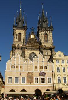 Česko, Praha - Staré Město-Týnska škola
