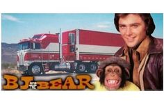 bj and the bear!  classic tv show One of my Absolute Favorite Shows