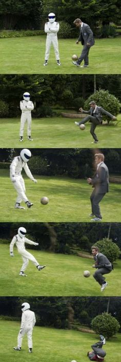 Nobody messes with the Stig
