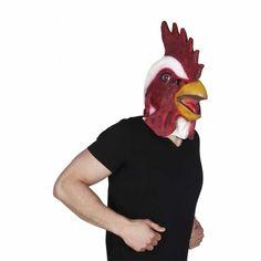 Comprar Máscara de Gallo de Corral para adulto. El gallito de corral anda suelto por la fiesta y todas las gallinitas a su alrededor. Esta máscara de gallo y muchas más puedes verla en disfracestuyyo.com ¡ te esperamos !
