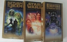 VHS Star Wars Trilogy 1997 Special Edition