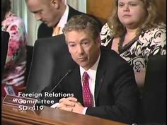 Rand Paul Discusses Egyptian Crisis @ Foreign Relations Hearing (7-25-13)