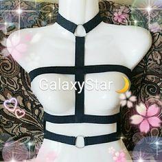 GalaxyStar Sexy Seduce Me Body Bra Harness w/O by GalaxyStar06