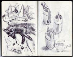 Huskies / Watering Can