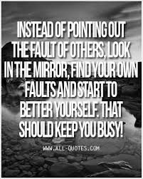 Image result for pointing out others flaws quotes
