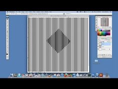 Tutorial on an Optical Illusion With Photoshop : Using Adobe Photoshop