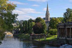 River Avon in Bath, Somerset   England