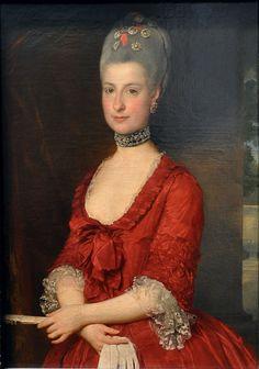 Erzherzogin Maria Christine by Marcello Bacchiarelli, 1766, Kunsthistorisches Museum