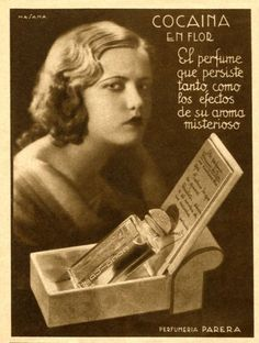Ad from Spain, 1934 .