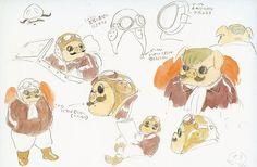 Porco Rosso sketches
