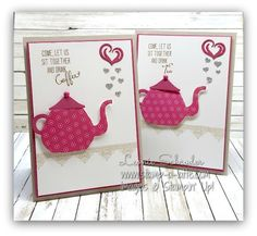 Have a Cuppa (Stamp A Latte - Stampin Up! with Leonie Schroder)