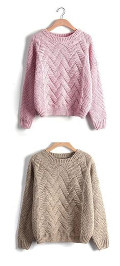 b77f4fa2875c Women s Daily Regular Pullover Knit Sweaters
