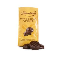 If a combination of sweet and spicy flavours lights your fire, Thorntons Dark Chocolate Gingers are a delicious dream come true!Spicy and sweet candied...