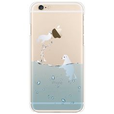 KISS GOLD(TM) 3D Dynamic Effect Sandglass Glitter Loose Crystal Hourglass Transparent Hard Case Cover for iPhone 6 4.7 inch (White):Amazon:Cell Phones & Accessories