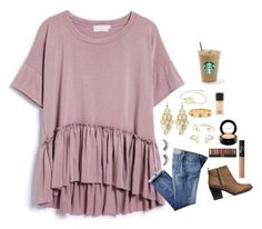 """""""How Was Everyone's Day"""" by kat-attack ❤ liked on Polyvore featuring мода, Alexia Crawford, Tory Burch, Aéropostale, Kendra Scott, MAC Cosmetics, NARS Cosmetics, H&M, vbkfashions и vbkprep"""