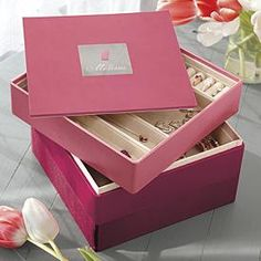 jewerly box pink