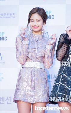 [HD포토] 블랙핑크(BLACKPINK) 제니 러블리한 미소  #서울가요대상 #블랙핑크 #BLACKPINK #제니
