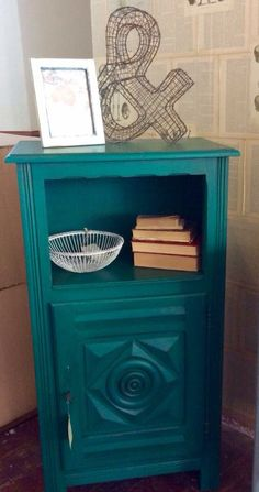 Breton French Cupboard Painted In Fusion Mineral Paint U0027Renfew Blueu0027 And  MMS Antiquing Wax