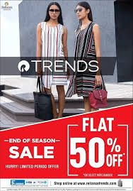 Reliance Trends Offers Today 80 Off