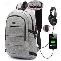 To Enjoy High Reputation In The International Market Symbol Of The Brand High-capacity Laptop Bag Shoulders Backpack Usb Charge Canvas Outdoor Basketball Sport Waterproof Notebook Travel Bag Backpack Laptop Bags & Cases