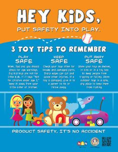 Tips on toy safety | CPSC http://www.cpsc.gov//PageFiles/116315/toysafety.pdf