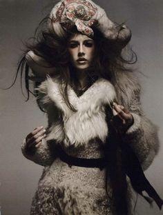 wool | fur | fashion editorial | glamour |