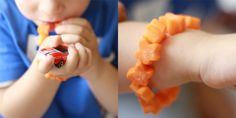feeding therapy bracelet for picky eaters. Cute Food, Good Food, Oral Motor Activities, Paleo Kids, Food Therapy, Feeding Tube, Special Kids, Looks Yummy, Picky Eaters