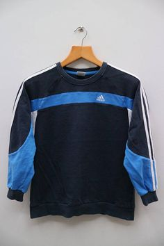 Vintage ADIDAS Small Logo Sportswear Black Pullover Sweater