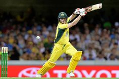 Steve Smith played a brisk innings to keep the chase on
