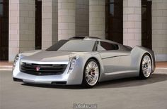 Cadillac's EcoJet concept car. All I can say is Wow.