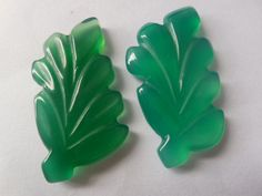 Very nice carved chalcedony leafPendant by Gemstonebeadsfinding, $20.00