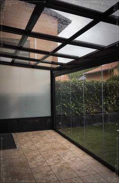 Outdoor Living Rooms, Unique House Design, Terrace Design, Backyard Patio Designs, Outdoor Pergola, Home Room Design, Glass House, Exterior Design, My House