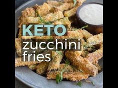 zucchini pizzas These Crispy Zucchini Fries are breaded with almond flour, parmesan and spices a. These Crispy Zucchini Fries are breaded with almond flour, parmesan and spices and baked until perfectly crispy! The perfect keto, low carb side dish! Veggie Recipes, Low Carb Recipes, Cooking Recipes, Healthy Recipes, Tartiflette Recipe, Keto Fruit, Zucchini Fries, Zucchini Pizzas, Low Carb Side Dishes