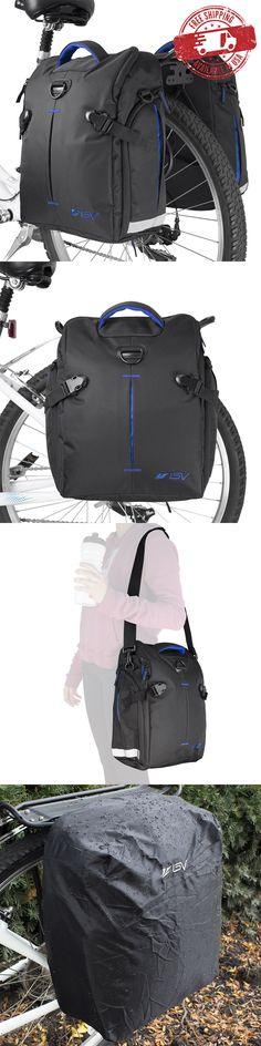 Bicycle Transport Cases and Bags 177835: Bv Bike Commuter Bag Cycling Panniers Rear Storage W/ Rain Cover (Pair) New Ba3 -> BUY IT NOW ONLY: $59.99 on eBay!