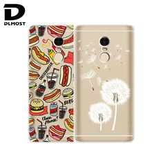 TPU Soft Cases For Xiaomi Redmi Note 4 Transparent Printing Drawing Phone Cases Cover For Redmi Note 4 Pro Prime Silicone Cases